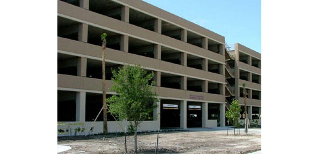 Spohn Centennial Parking Garage
